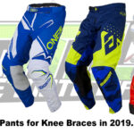 The Best MX Pants for Knee Braces. [Fly Racing, Answer, O'Neal, Klim]